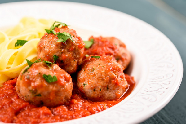 Indulge in all-you-can-eat meatballs in Little Italy.Shutterstock.