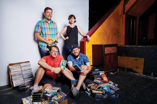 Clockwise from top left: Joe Tropea, Liz Donadio, Scott Braid, Dave Barresi.Sean Scheidt