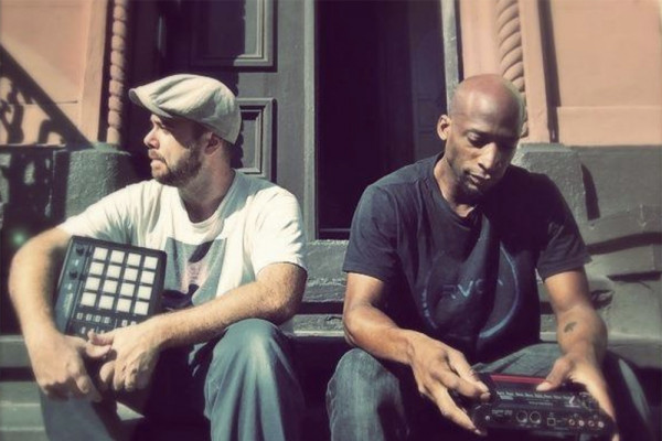 DJ Dubble8 and Wendel Patrick of Baltimore Boom Bap Society.Courtesy of the Reginald F. Lewis Museum