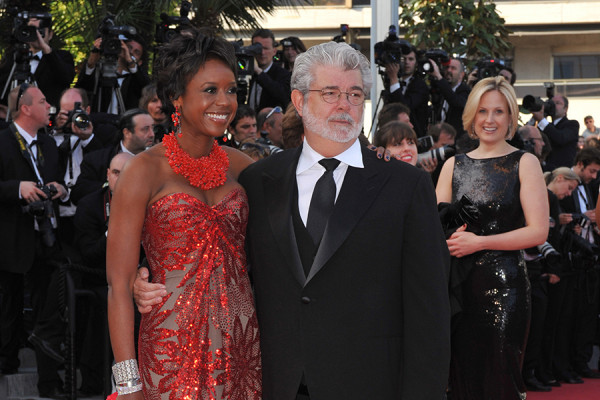 George Lucas and his wife Mellody Hobson.Shutterstock