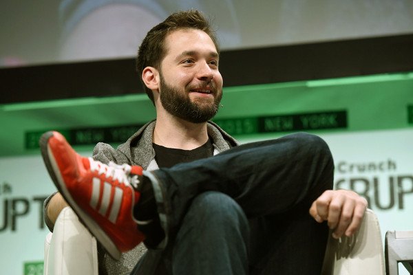 Alexis Ohanian speaks onstage during TechCrunch Disrupt in May.TechCrunch