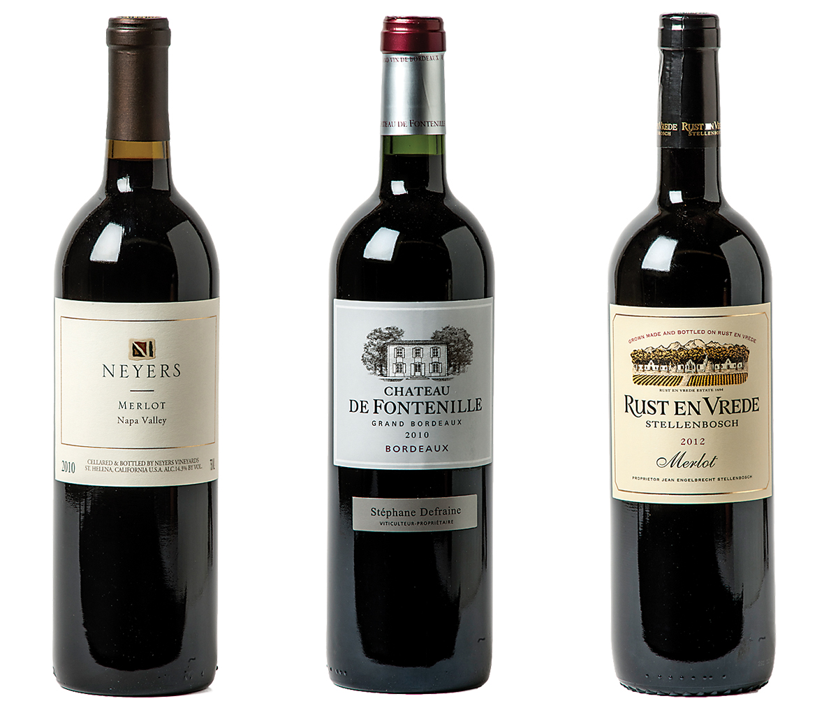 Three Merlots Worth Checking Out