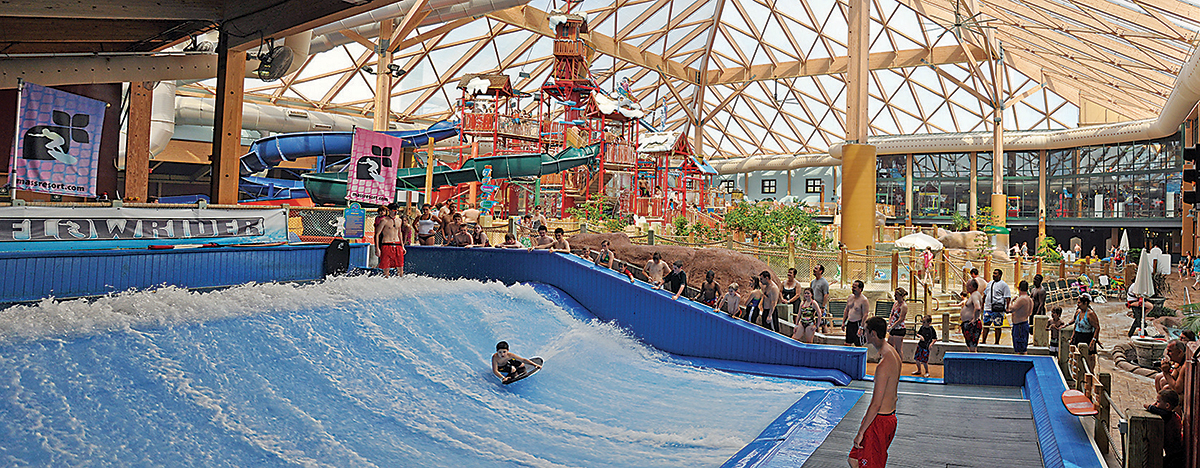 Indoor Water Parks Let You Get Wet And Wild Whatever The